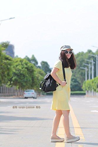 MSZYZ de Sac simple voyage de en à en loisirs madame nylon toile dos noir à Ladies' bandoulière sac Sac g44Ap8nqW