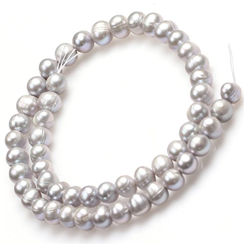 Round Gray Freshwater Pearls - 1