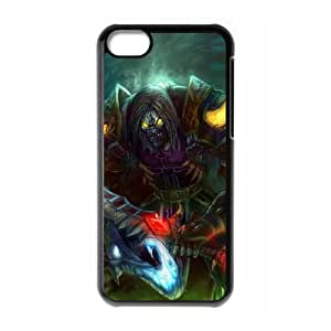 world of warcraft iPhone 5c Cell Phone Case Black PSOC6002625575707