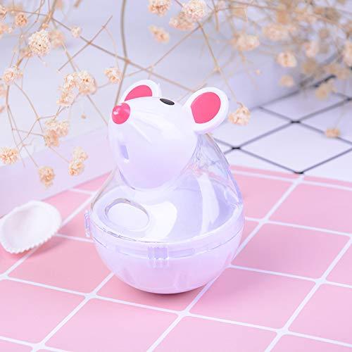Juguete educativo para gatos con forma de ratón, dispensador de ...