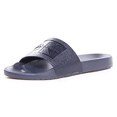 Calvin Klein Men's Vincenzo Jelly Slide Sandal