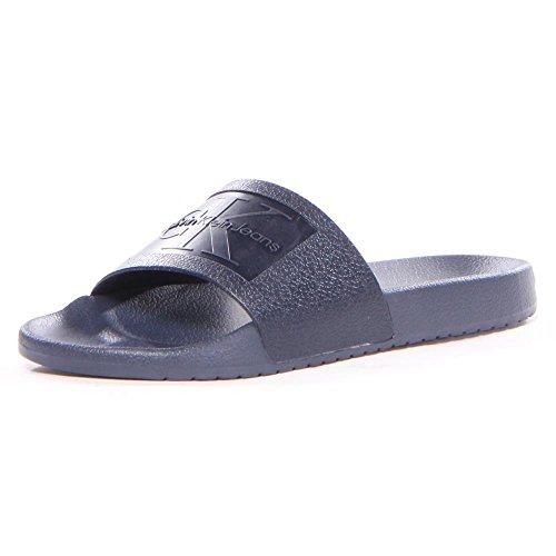 2f162800854 Calvin Klein Men s Vincenzo Jelly Slide Sandal