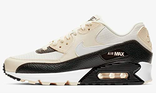 f164aa2cfd3e8a Nike Women s Air Max 90 Pale Ivory White Black 325213-138