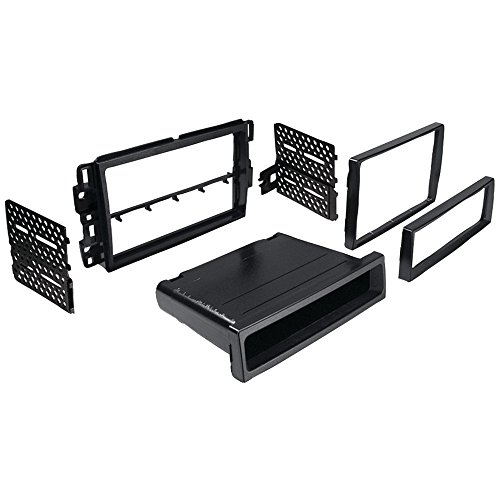 BEST KITS BKGMK317 In-Dash Installation Kit (Chevrolet(R) Suburban/Tahoe 2007-2013 & Impala/Monte Carlo 2006-2007 Double-DIN/Single-DIN with Pocket) Accessories Electronics