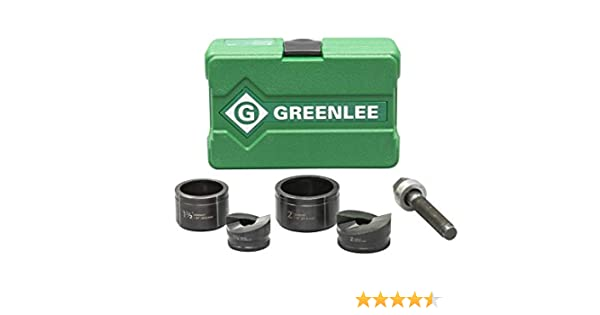 Greenlee 7237BB KNOCKOUT PUNCH DRIVER KIT Renewed