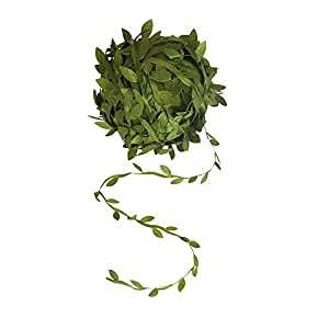 AMAZECO 132 Ft Artificial Vines Fake Hanging Plants Silk Ivy Garlands DIY Vine Simulation Flower Foliage Rattan Green Leaves Ribbon Wreath Accessory Wedding Wall Crafts Party Decor 68