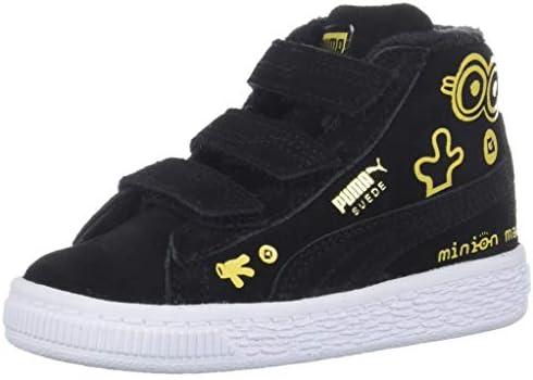 PUMA Baby Suede Mid Fur Kids Sneaker