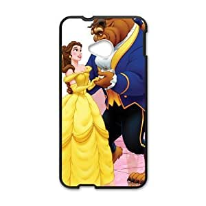 HTC One M7 Phone case Black Beauty and the Beast QQA8797685
