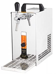Bier Zapfanlage PYGMY 25/K mit Membranpumpe, 1-leitig Trockenkühlgerät aus Edelstahl, 30 Liter/h thumbnail