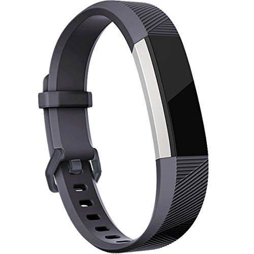 Maledan Replacement Accessories Bands for Fitbit Alta and Alta HR(15 pack), Sport Wristbands with Secure Metal Buckle for Fitbit Alta HR/Fitbit Alta Small Large