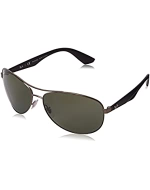 Active Lifestyle Aviator Sunglasses