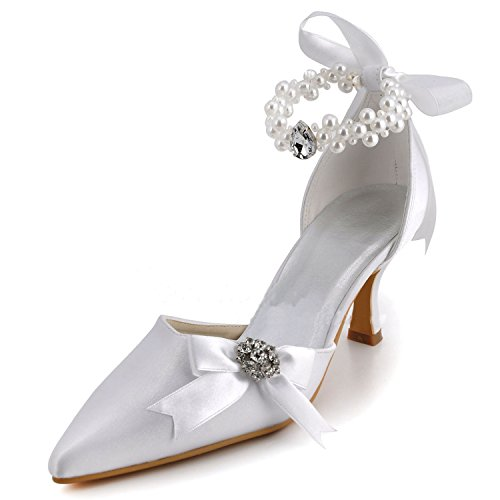 Kevin Fashion ,  Damen Hochzeitsschuhe , Silber - Plateado - plata - Größe: 43 EU