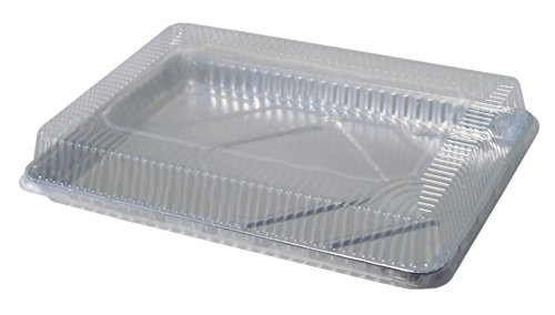 Durable Packaging Plastic Dome Lid for Half-Sheet Pan (Pack of 100) by Durable Packaging (Image #2)