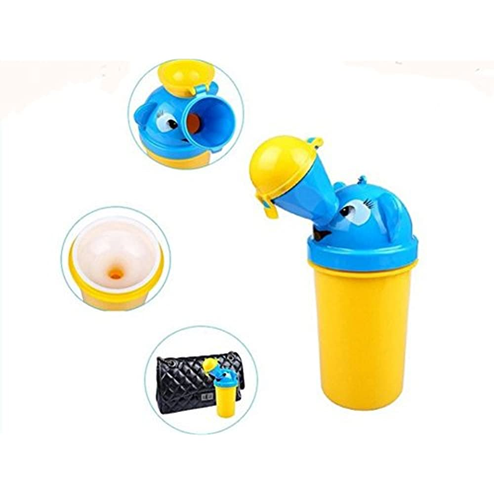 TRAVEL AID Portable Emergency Urinal Toilet Baby Camping Toddler Pee Training