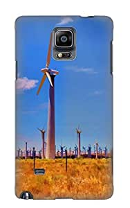 Defender Case For Galaxy Note 4, Wind Power Pattern, Nice Case For Lover's Gift