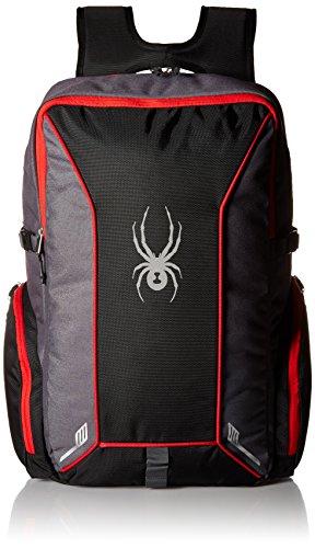 Spyder Kid's Action Backpack, Black/Polar/Red, One Size ()