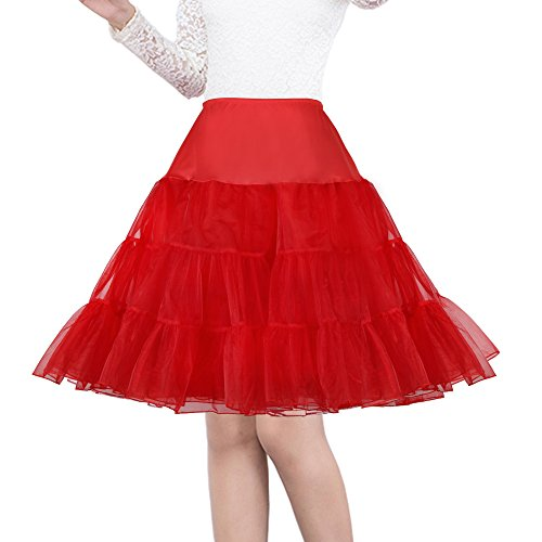 (Shimaly Women's 50s Vintage Petticoat 26
