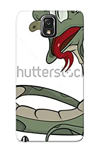 New Arrival JRsnUqs403RPxUI Premium Galaxy Note 3 Case(snake Cartoon Tock Vector )