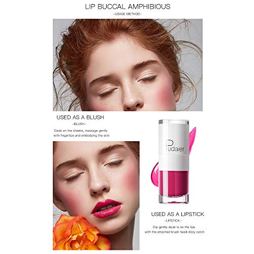 Ourhomer  Clearance Sale Pudaier New Long Lasting Lipstick Waterproof Matte Liquid Lip Gloss Lip Liner Cosmetics Makeup