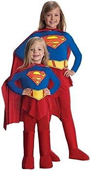 DISBACANAL Disfraz Supergirl niña - -, 8-10 años: Amazon.es ...