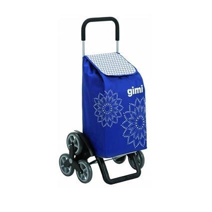 Carrito para la compra carrito de la compra bolsa carrito 6 ruedas para escaleras Azul