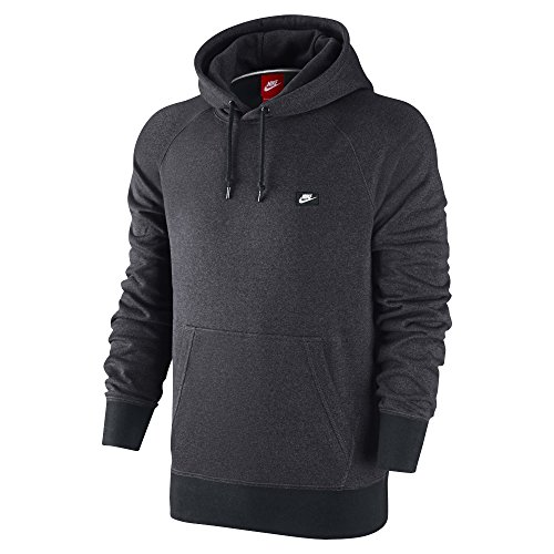 [678564-060] NIKE AW77 FRENCH TERRY SHOEBOX PULLOVER APPAREL HOODY NIKEANTHRACITE/BLACK