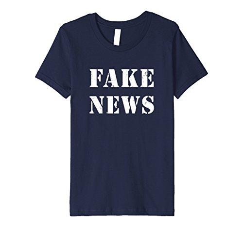 Kids Fake News Halloween T-Shirt 4