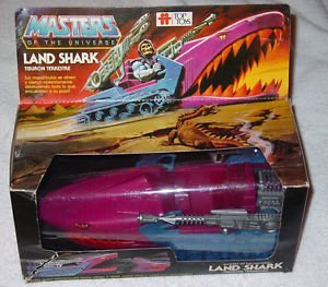 [Vintage He-man Masters of the Universe Action Figure Vehicle Land Shark] (He Man Vehicle)