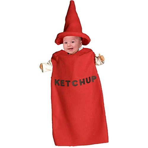 Ketchup Bottle Costume (Funny Baby Ketchup Bottle Costume (6-12 Months))