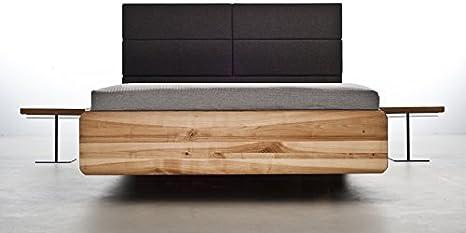 Cama con somier de mazzivo alta calidad Madera cama sencillo ...
