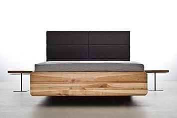 Mazzivo Boxspring Hochwertiges Holz Bett Schlicht Zeitlos