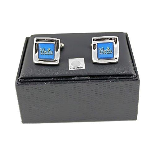 aminco NCAA UCLA Bruins Sports Team Logo Square Cufflinks Gift Box Set