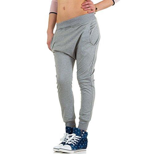 Ital-Design - Pantalón - para mujer gris