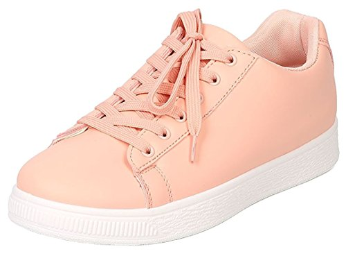 Women's Basic Lace Up Sneakers - 6