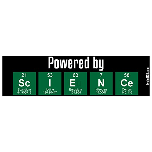 EvolveFISH Powered by Science Bumper Sticker 11