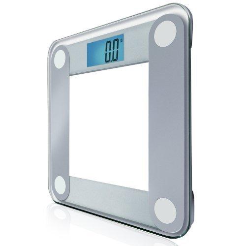Báscula de baño Digital de precisión EatSmart w/tamaño Extra grande con retroiluminación 8,89 cm pantalla