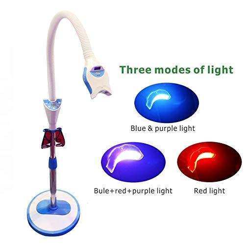 East Brand Mobile Teeth Whitening System Bleaching LED Light Lamp MD-555