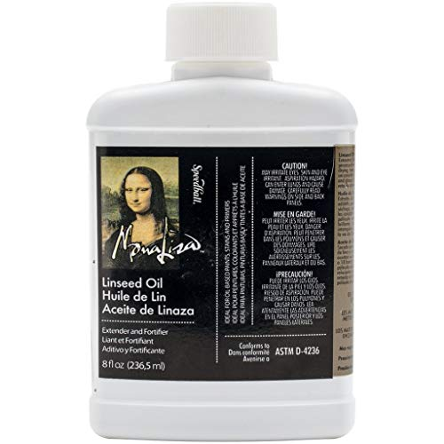 Speedball 8-Ounce Mona Lisa Linseed Oil