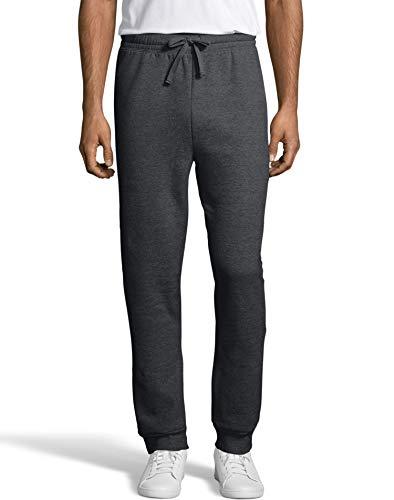 Hanes Mens EcoSmart Fleece Jogger Sweatpant with Pockets  -C