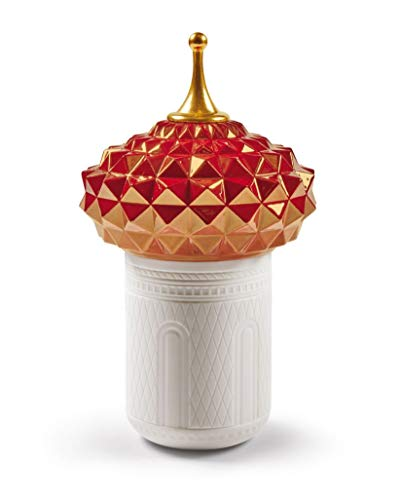 Lladro - South Tower Candle 1001 Lights (Rose)