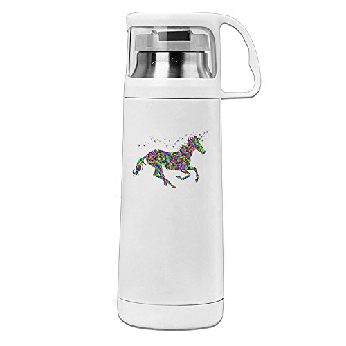 Mortal Kombat Costumes Party City (Beauty Rainbow Unicorn Drink Bottle With A Handle Vacuum Insulated Cup For Hot And Cold Drinks Coffee,Tea Travel Thermal Mug,14oz White)