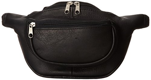 david-king-co-two-zip-waist-pack-black-one-size