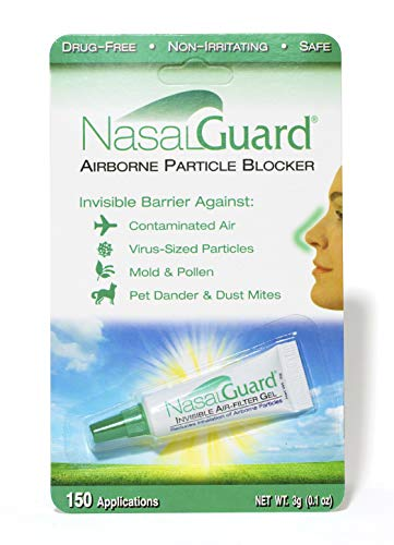 - NASALGUARD Allergy Relief and Allergen Blocker Nasal Gel - Drug-Free and Proven Safe for Pollen Allergy Sufferers, Approved for Adults and Children - Over 150 Applications Per Tube
