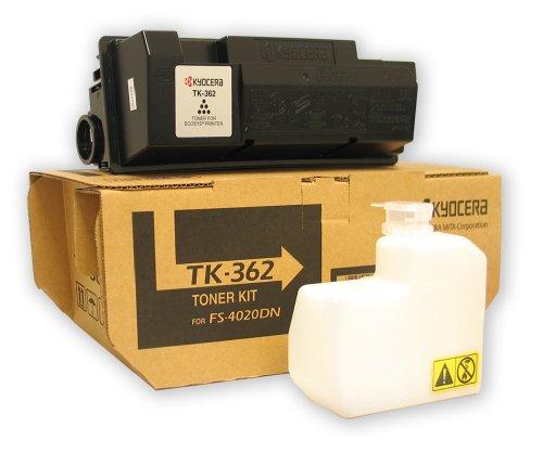 Kyocera 1T02J20US0 Model TK-362 Toner Kit for Ecosys FS-4020DN, Genuine Kyocera, Up To 20000 Pages