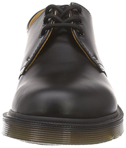 Dr. Martens Womens 1461 3 Eye Burgundy Shoes 5 M Uk, 7 M Nero Liscio