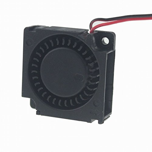 Gdstime 30mm x 30mm x 10mm 12V Mini Brushless Cooling Blower Fan Dual Ball Bearing
