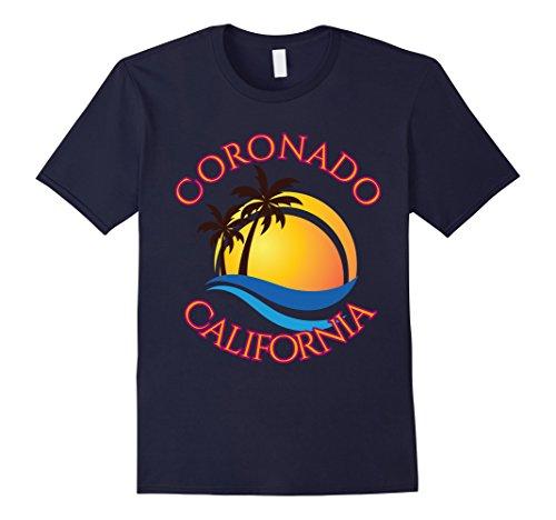 Mens Coronado Beach Surf T-Shirt California Gift Tee Shirt Small - Shop Coronado Gift