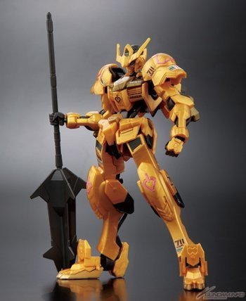 Gundam [Limited Production Color] Mobile Suit Iron-Blooded Orphans Barbados 1/144 Gold Injection Color of HG Mobile Suit from Bandai
