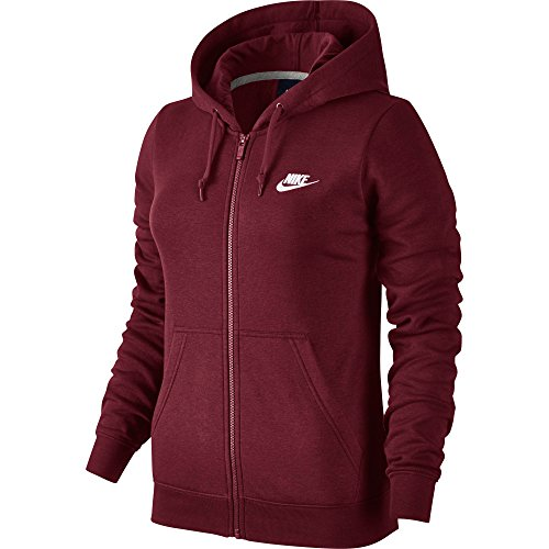 New Nike Women's Sportswear Hoodie Team Red/Team Red/White Small