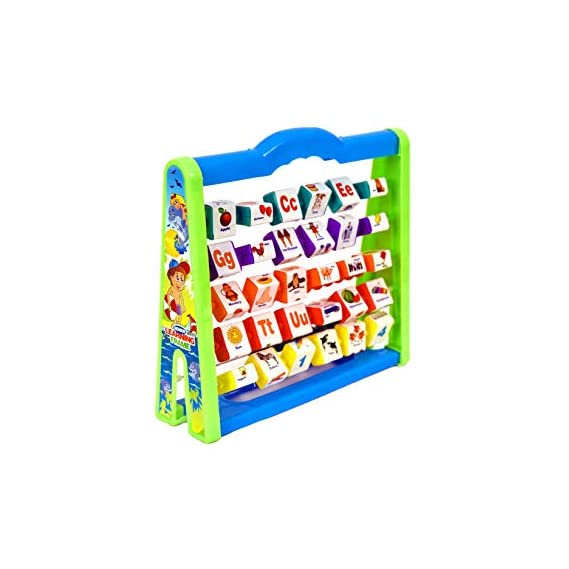 RATNA'S Educational Learning Frame for Kids to Learn Alphabet, Numbers, Counting, Colours (Big)